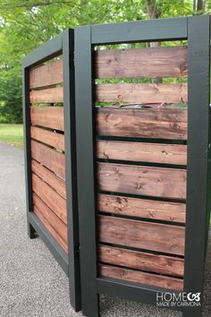 Wooden Do it Yourself Fences #healthandfitness