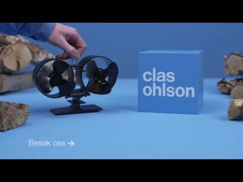 Kaminvifte Twin fan | Clas Ohlson