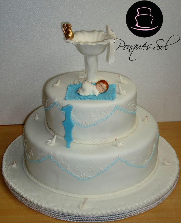Ponqué / Torta de Bautizo - Baptism cake