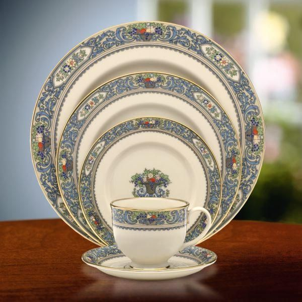 Autumn by Lenox    I still love it.  The marriages may not have worked but the china was a forever love.