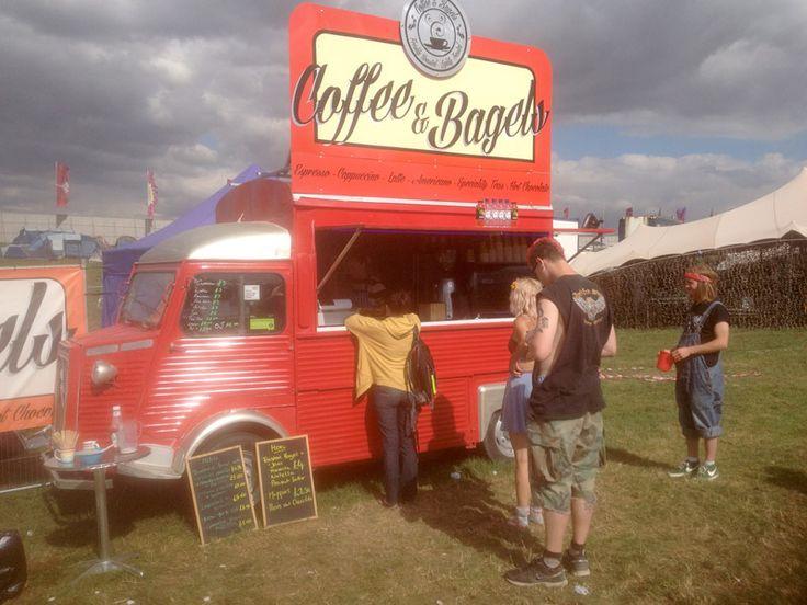 The All New Bagel Citroen Van HY » Roaming Giraffe | Professional street food