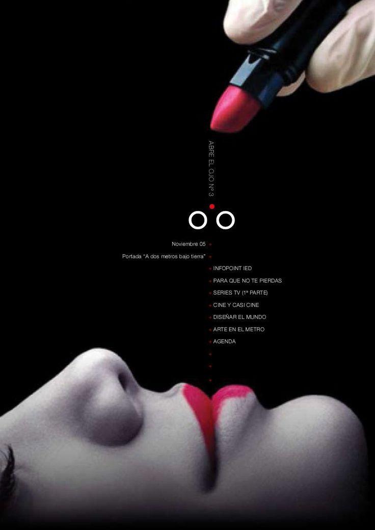 Abre el Ojo Nº 3  Revista de Diseño, Comunicación y Moda del IED Madrid. Noticias, Eventos, Exposiciones y Agenda Cultural de Diseño.