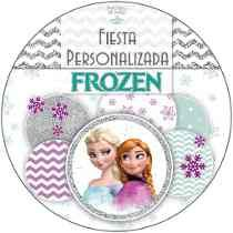 Kit Imprimible Personalizado + Candy Bar Frozen Completo