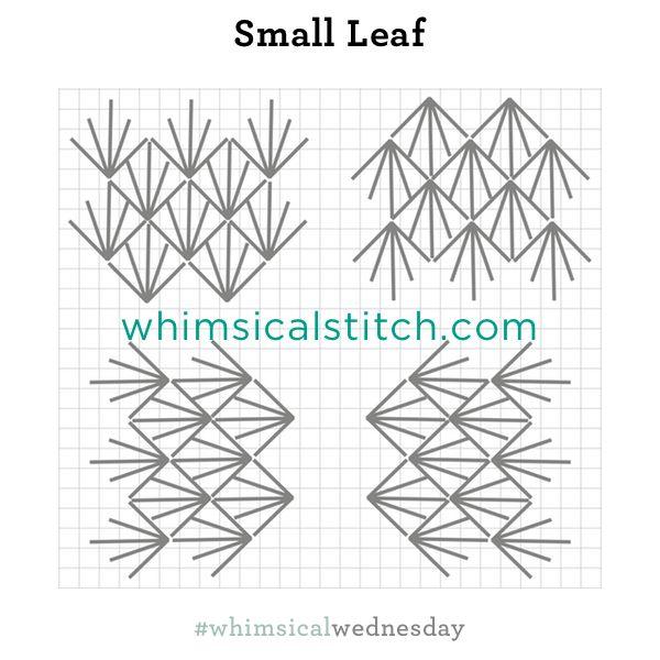 Small Leaf Stitch