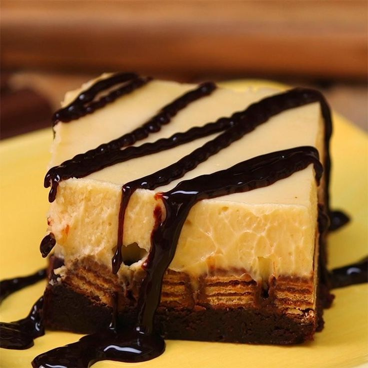 Kit Kat Cheesecake Brownies   Here's The Recipe: http://sha.red/2ckTn7z    This is the ultimate confection!