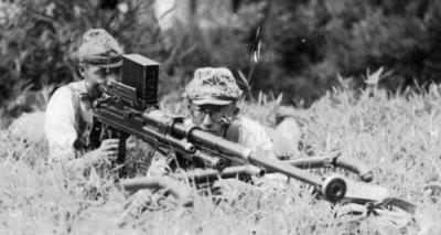 Type 97 anti-tank gun.