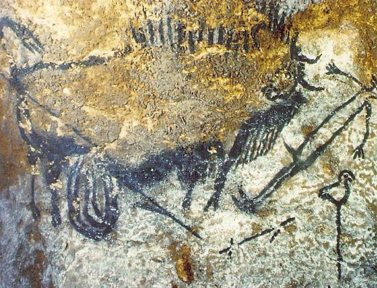 Пещерная живопись(ФОТО).
