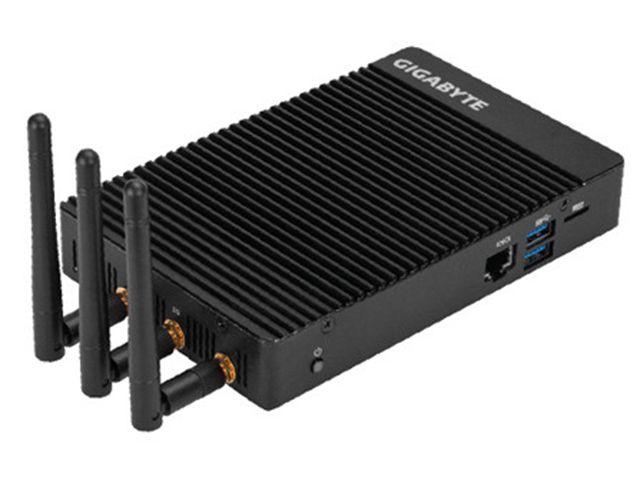 GIGABYTE представила BRIX IoT мини-компьютер, который работаетнаIntel Celeron N3450 или N4200 Pentium процессоре и устройство предназначено для «интернета вещей».  Характеристики GIGABYTE BRIX IoT:  SOC  Intel Celeron N3450 четырехъядерный процессор @ до 2,2 ГГц с HD графикой Intel 500 (6W...