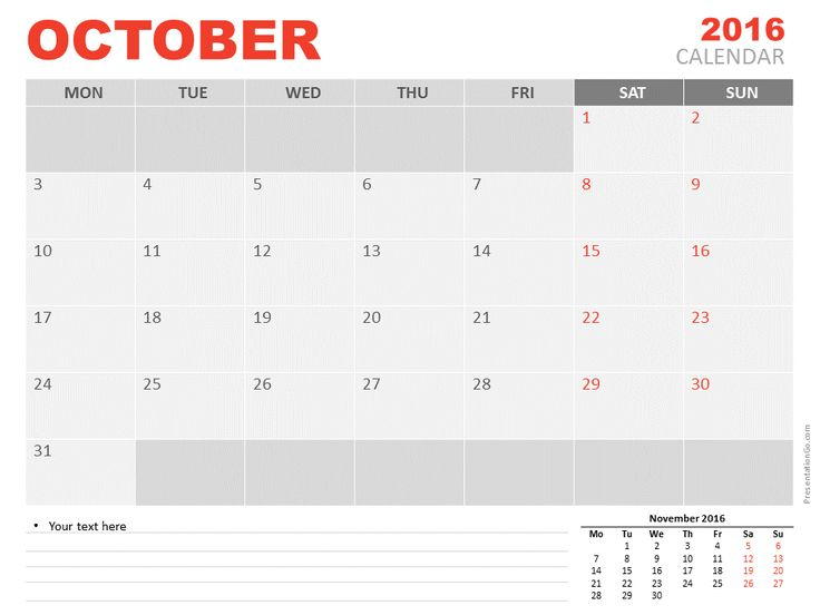Calendar Tool Kit - A PowerPoint Template from PresenterMedia