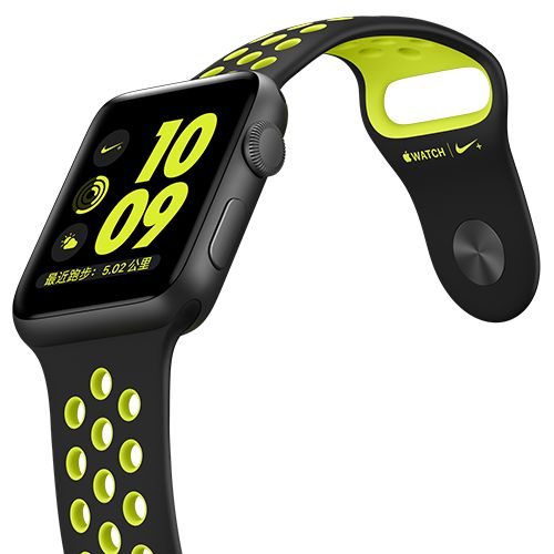 Apple Watch Nike+ (密集恐惧症加强版)