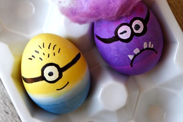 Fun Easter egg designs