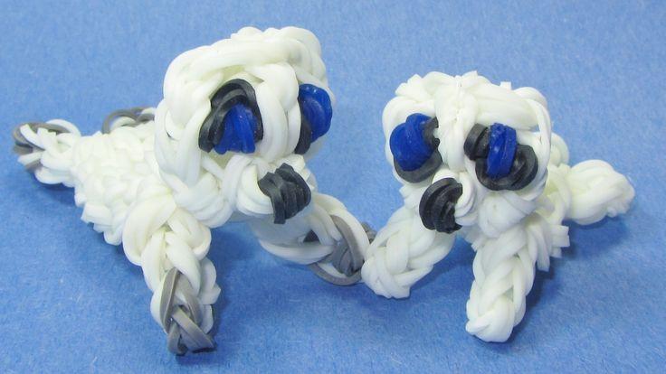 Rainbow Loom: SEAL Pup Charm: How To Tutorial / Design (+lista de reprod...
