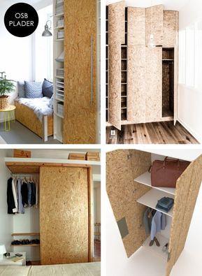aaf8231e140 Nogle gange er der behov for en skræddersyet løsning, når det kommer til  opbevaring af tøj og sko. Det er... | Bedroom | Diy home decor, Diy  furniture, Diy
