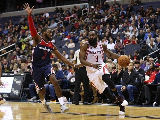 James Harden, John Wall, kings of the turnovers