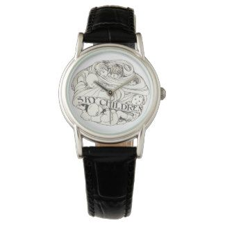 Sky Children Mural Art Nouveau Ladies Watch