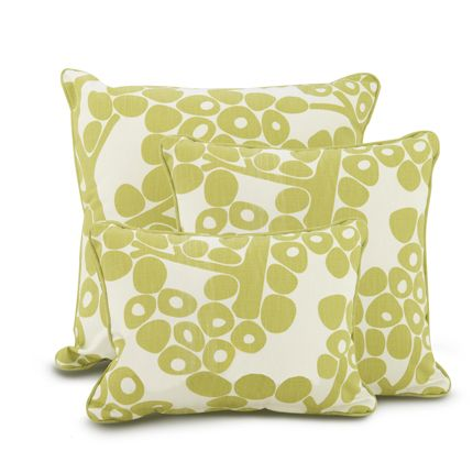 Oilo Modern Berries Pillow   Spring Green   Simple Shapes Wall Decals,  Furniture, And