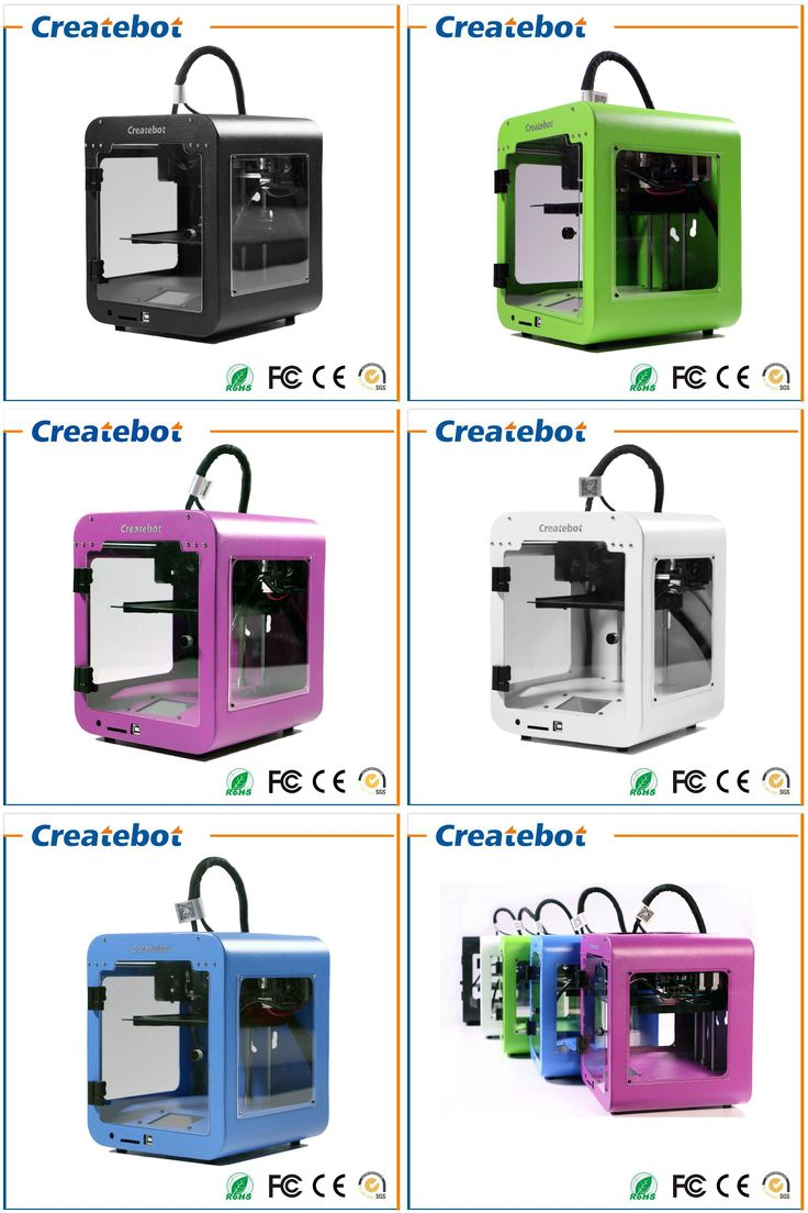 [Visit to Buy] High Accuracy Createbot Super Mini 3D Printer 5 Colors for Option Fine Shape Low Price Build Size 85*80*94mm Small 3D Printer #Advertisement