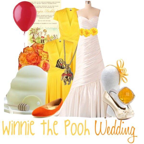 Winnie The Pooh Wedding Fashion