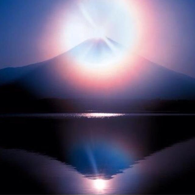 Beautiful diamond of Mt. Fuji