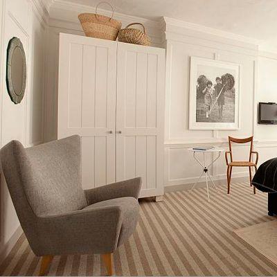 calm modern shaker interpretation fireplace ideasliving room - Shaker Living Room Ideas