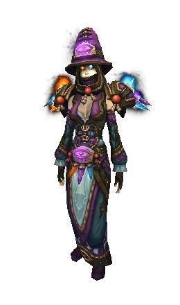Elemental Triad Regalia Transmog (Mage)