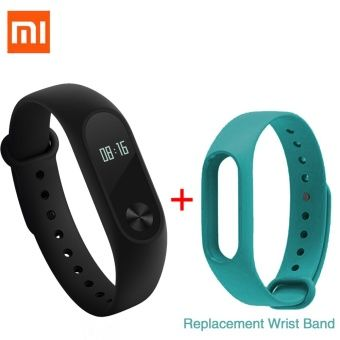 """Buy Xiaomi 0.42"""" OLED Touch Screen Mi Band 2 Smart Bracelet +Replace Band online at Lazada. Discount prices and promotional sale on all. Free Shipping."""