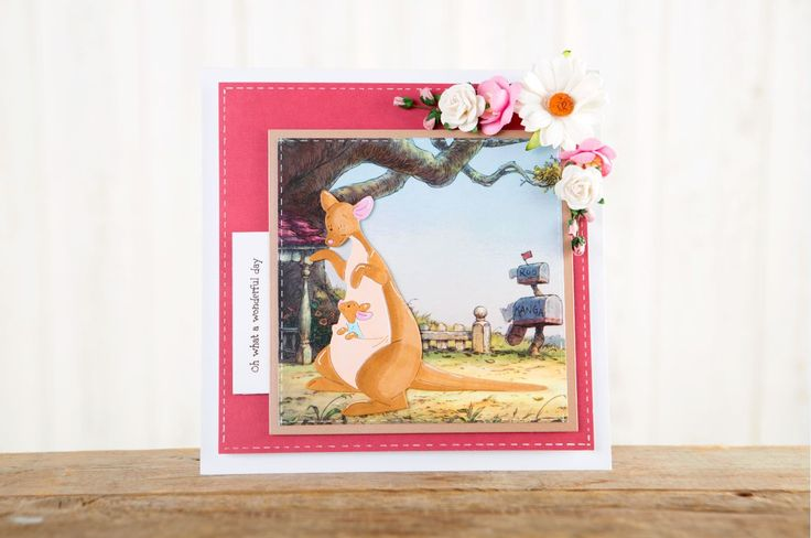 New Disney Winnie the Pooh craft collection Launches on Create and Craft, Monday 7th November at 8AM! / papercraft / cardmaking / scrapbooking / scrapbook / crafts / baby / tigger / pooh bear / piglet / eeyore