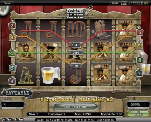 All wilds during free spin! +2100x total bet win on Net Entertainment slot Dead or alive!  You can find hundreds of Big Win pictures and more videos here: http://www.bigwinpictures.com