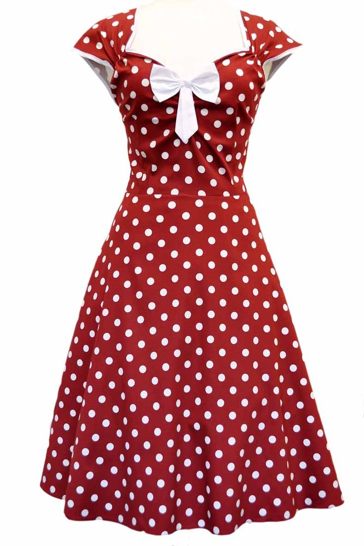 "The stunning ""Lady Vintage"" 50s ""Isabella"" Dresses have so much style,..."