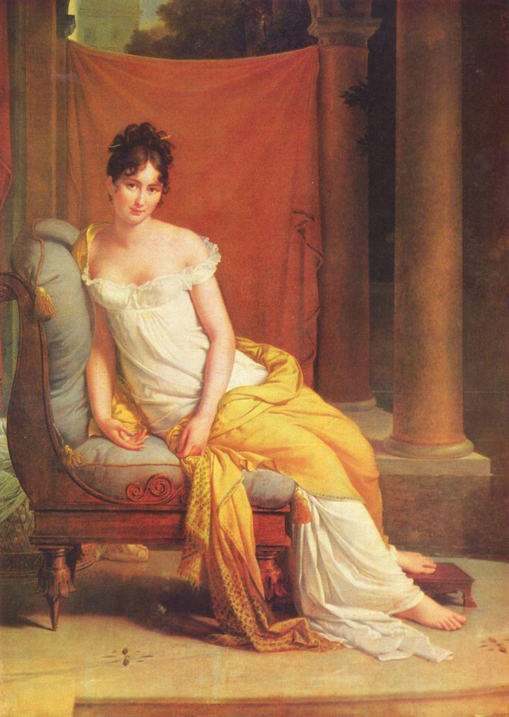 Портрет мадам Рекамье. Жерар