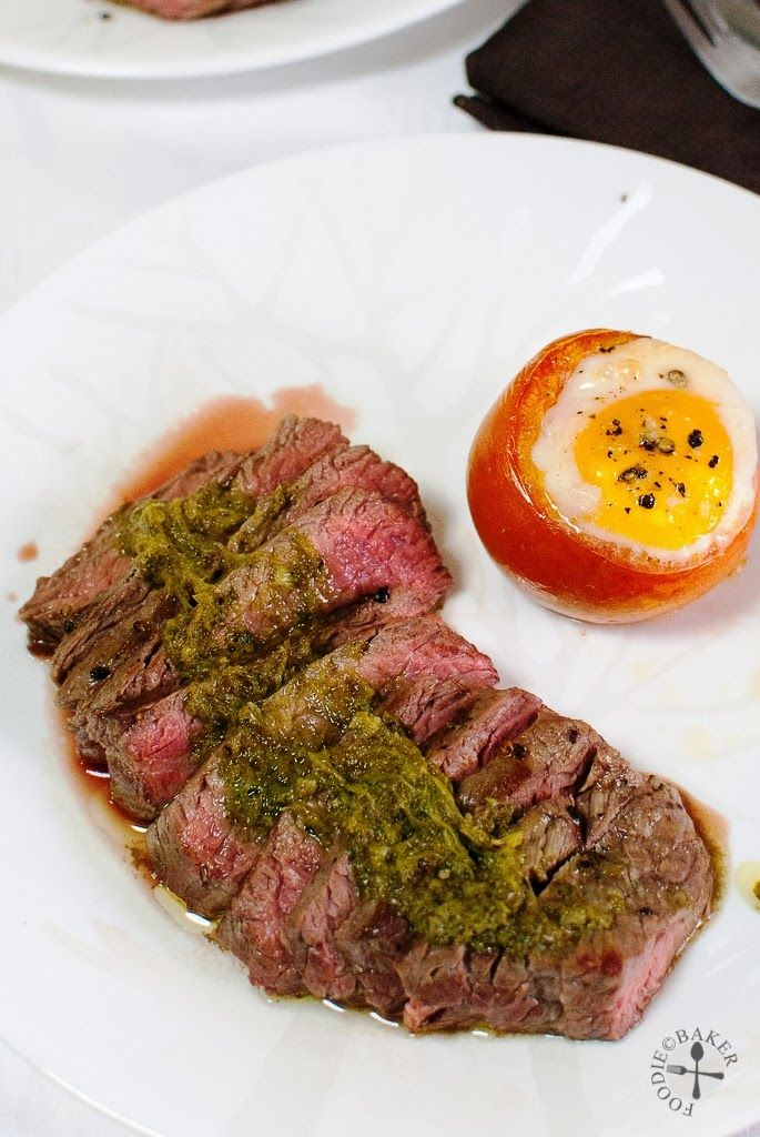 The Bestest Recipes Online: Steak with Chimichurri (Curtis Stone)