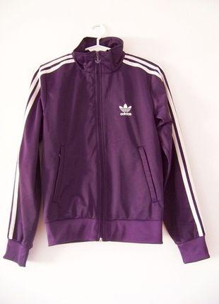 Kup mój przedmiot na #vintedpl http://www.vinted.pl/damska-odziez/bluzy/12570006-fioletowa-bluza-adidas-original
