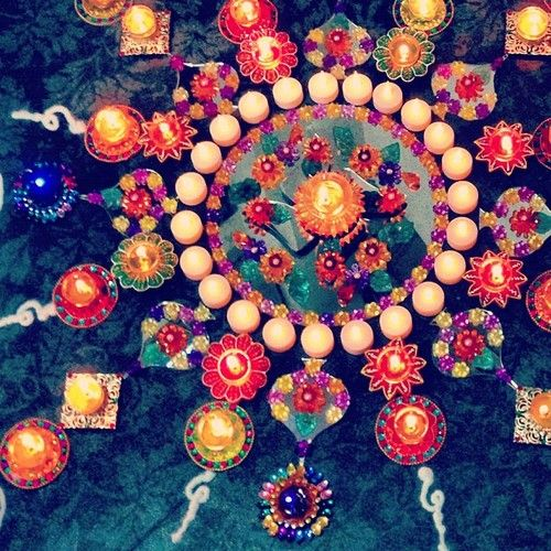 Diwali inspired wedding decor! #indian #festive