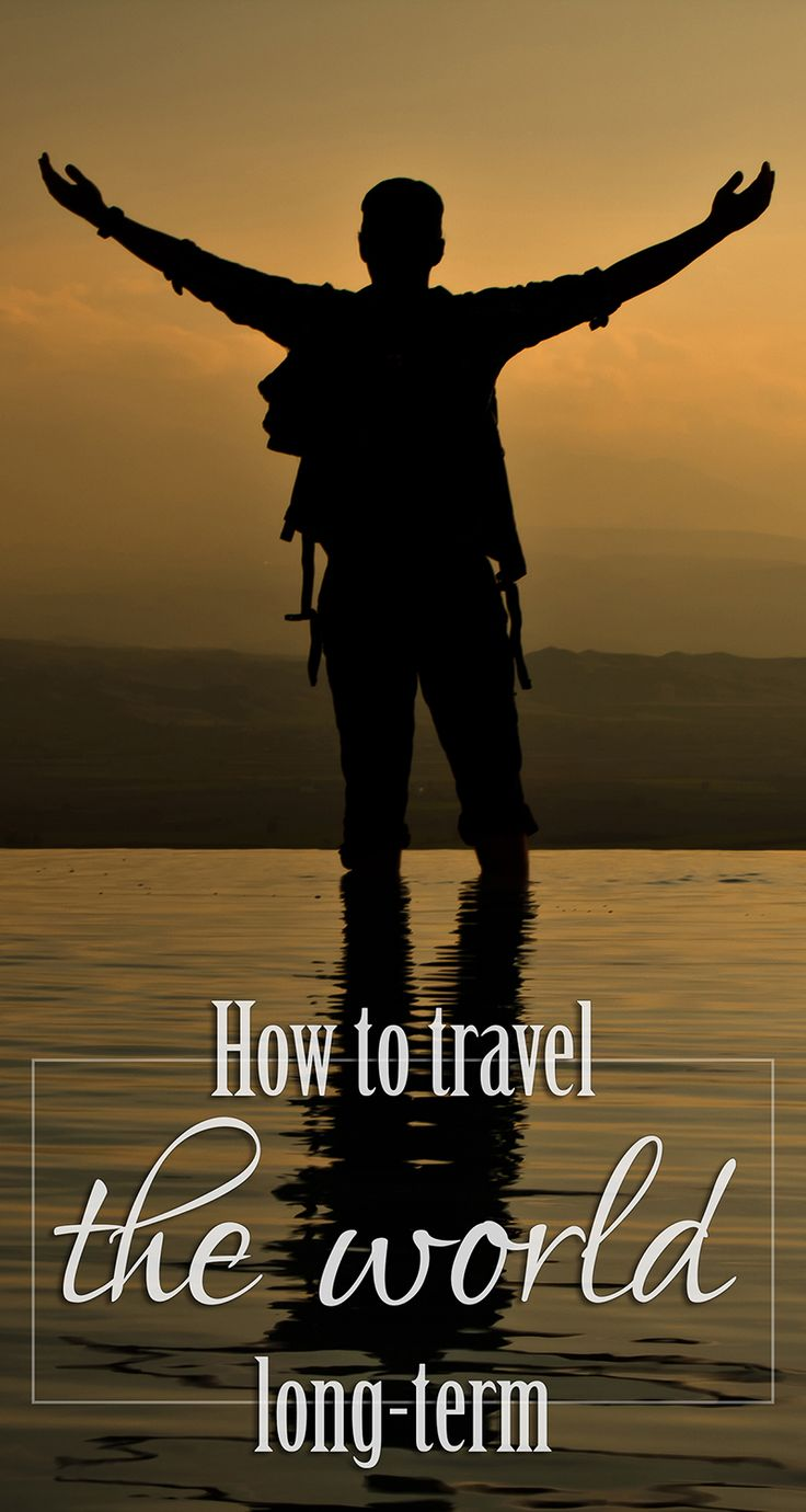 Tips on how to travel the world long-term including how to make money, how to pack, and more!