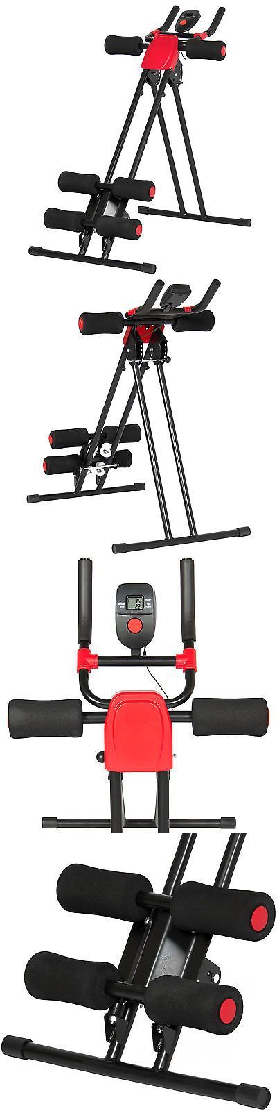 Abdominal Exercisers 15274: Adjustable Abdominal Trainer Core Ab Cruncher W/ Lcd Display- Red/Black -> BUY IT NOW ONLY: $49.94 on eBay!