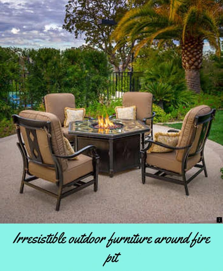 click the link for more outdoor furniture around fire pit follow rh pinterest com