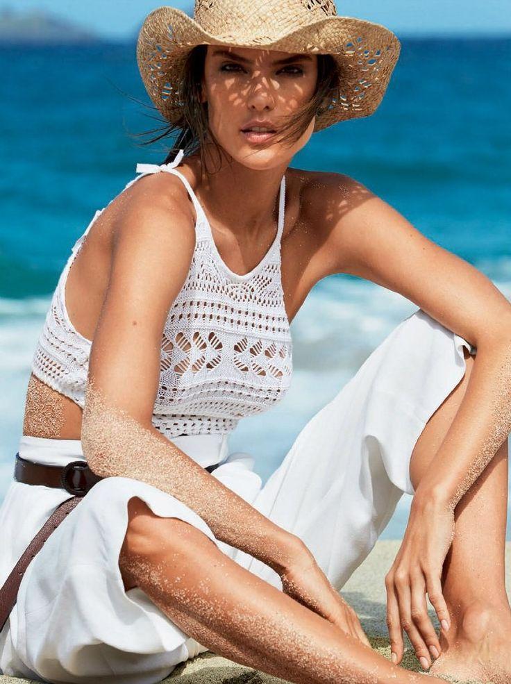 Алессандра Амбросио (Alessandra Ambrosio) в Vogue Brazil