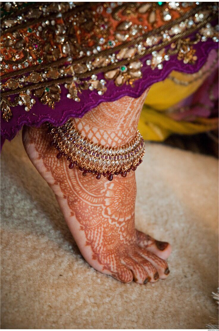 Find This Pin And More On Payal (ankle Bracelet)