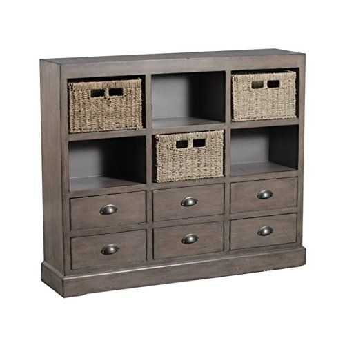 Buy Powell 15A2063 Currituck Driftwood: Bar Cabinets - ✓ FREE DELIVERY possible on eligible purchases