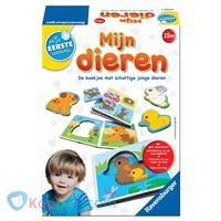 Mijn eerste leerspel: dieren - Koppen.com