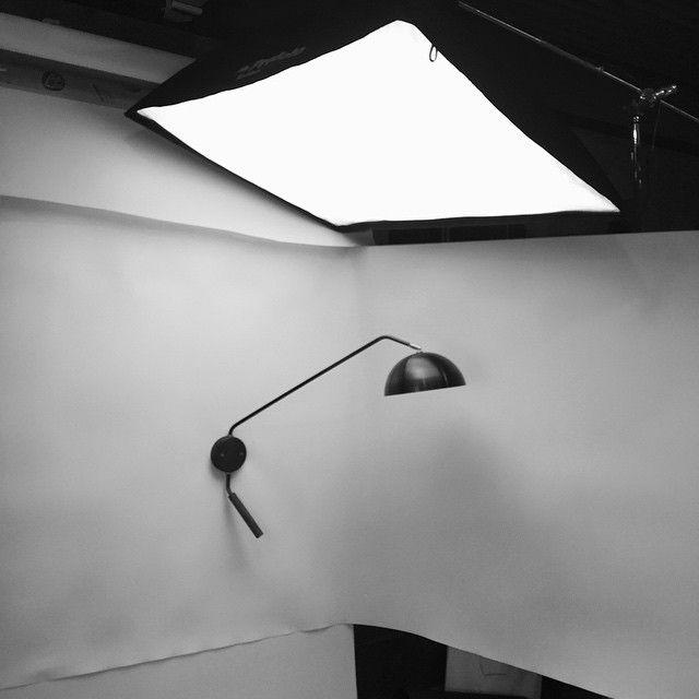 Arc Wall Lamp In Blackened Brass By Allied Maker Modern