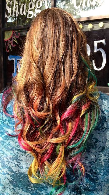 Color hair..