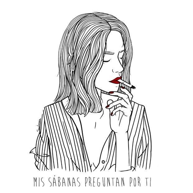 My sheets ask about you, by Sara Herranz #culturainquieta http://culturainquieta.com/es/arte/ilustracion/item/9657-en-amor-en-los-tiempos-de-sara-herranz.html