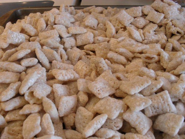 Lemon Puppy Chow | Tasteful Space