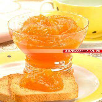 Receita de Geléia de cenoura