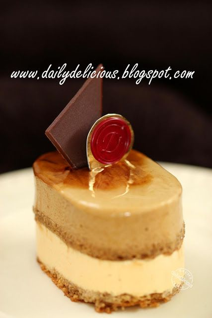 dailydelicious: Brésilienne: Coffee and Caramel Entremets from Hidemi Sugino's Book