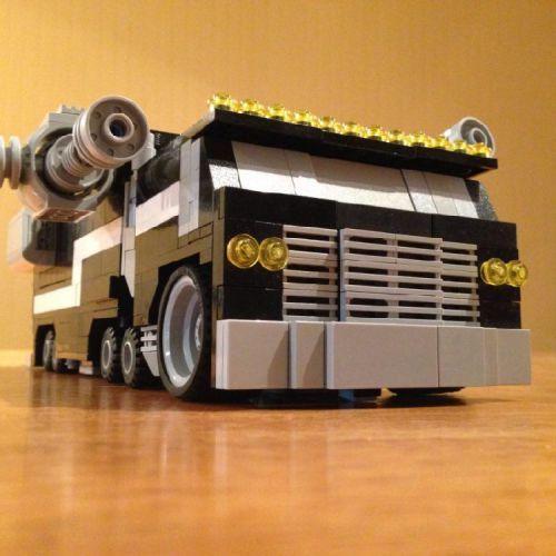 Conquest - An original transformer: A LEGO® creation by Tanner Compton : MOCpages.com