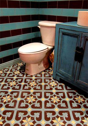 Fabrica de mosaico hidráulico, tradicional y contemporáneo
