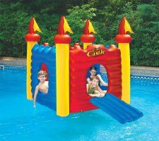 Swimline 9083 - Cool Castle Inflatable Playhouse and Pool