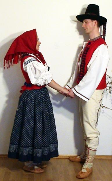 Moravian Wallachian folk costumes